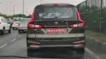 Spy Video: Maruti Suzuki Ertiga Sport Spotted Testing