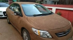 Toyota Corolla Owner Gets Car Wrapped In Cow Dung — Jugaad Level 9999