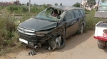 Toyota Innova Rolls Over Thrice In Crash; Airbags Fail To Deploy