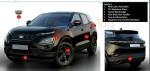 Tata Harrier Dark Edition Details Revealed With Seats Finished In Benecke-Kaliko Blackstone Leather.