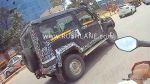 New 2020 Force Gurkha 3-Door Seen Testing In India Ahead Of Launch: Spy Pics & Details