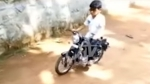 Miniature Royal Enfield Bullet With Electric Drivetrain Built By Man For His Son
