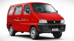 Maruti Suzuki Eeco Becomes Safer: Receives A Price Increase