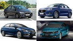 Top-Selling Sedans In India For September 2019: Maruti Dzire & Honda Amaze Top The List