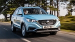 MG ZS EV Buyers Are Offered Free Fast Charging For A Limited Period In India