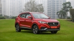 MG ZS Electric SUV Deliveries Begin: First Vehicle Delivered To EESL