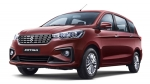 Best-Selling MPV In India For July 2020: Maruti Ertiga & XL6 Register Over 10,000 Units Of Sales