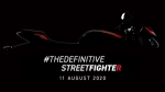 Triumph Street Triple R India Launch Scheduled On August 11: New Teaser Video