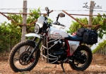 Royal Enfield Interceptor 650 Modified Into Scrambler/ADV Tourer By EIMOR Customs