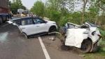 Kia Seltos Accident Images Surface — Did The Kia Seltos Split In Half Or What Really Happened?