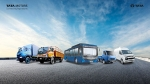 Tata Motors Unveils 21 New Commercial Vehicles Including An Electric Bus