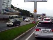 Video: Bus Driver Misses His Route!