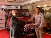 Mahindra Gifts Pro-Kabaddi Star Player With Thar!