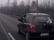 Video: Toyota Driver Uses Gun In Road Rage Incident!