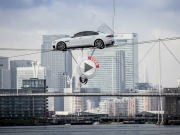 Video: Jaguar XF High-Wire Crossing No Ordinary Stunts!