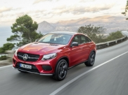 Mercedes-Benz Reveals Its Sporty GLE Coupe
