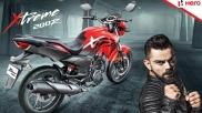 Hero MotoCorp Signs Virat Kohli As Brand Ambassador
