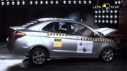 Ford Aspire Facelift Latin NCAP Crash Test Results Revealed — Gets Three-Star Safety Rating