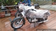 Spy Pics: Jawa 350cc And 300cc Spied; India Launch On November 15
