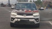 Ssangyong Tivoli Facelift Spotted Testing In India — Can We Expect It To Be Launched?