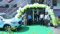 MG & Tata Deploy The First 50 kW Charging Station