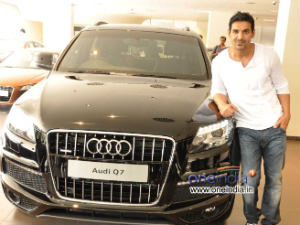 John Abraham with his Q7