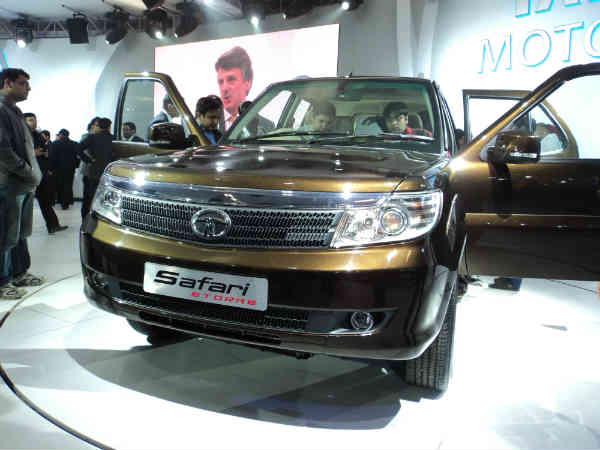 Tata Safari Storme Unveiled New Features Design Delhhi Auto