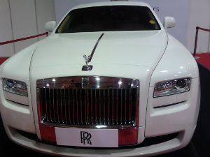 Roll Royce New Indian Showroom Chandigarh Ghost Extended