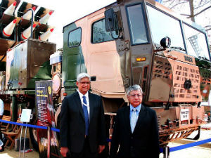 Tata Displays Defence Vehicle Line-Up