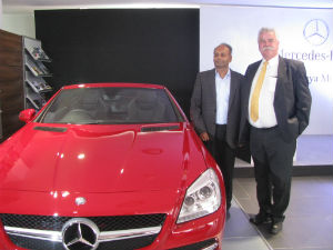 Mercedes Gets Bangalored