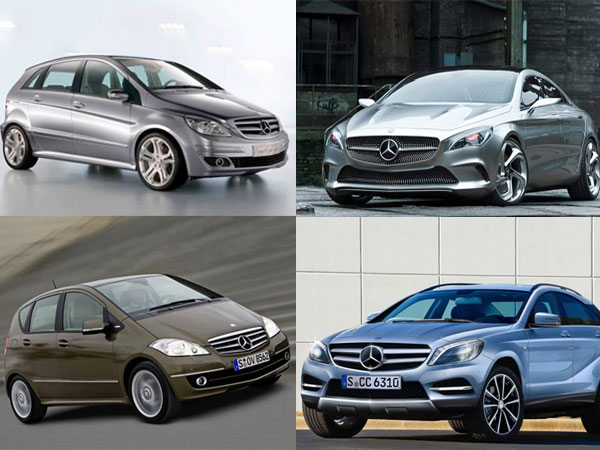 Mercedes Benz India 5 Small Cars Enter India Soon