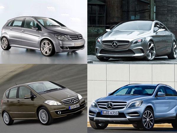 Mercedes benz india 5 small cars enter india soon for Mercedes benz compact car