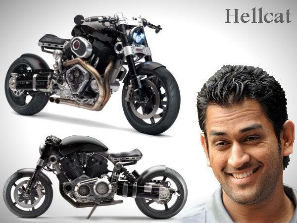 Mahendra Singh Dhoni's Latest Love | Hellcat X132 | Superbike ...