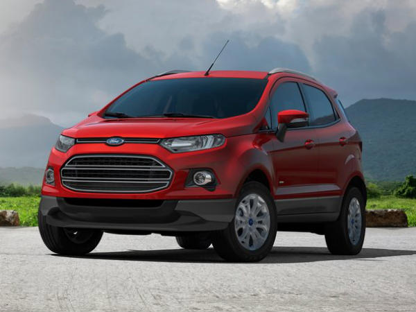 ford ecosport compact suv price revealed brazil drivespark. Black Bedroom Furniture Sets. Home Design Ideas