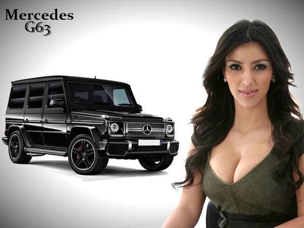 Kim Kardashian Reality Tv Star Buys Mercedes G63 Suv