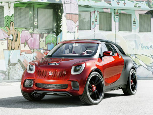 Smart Forstars - Electric Sports Utility Coupe