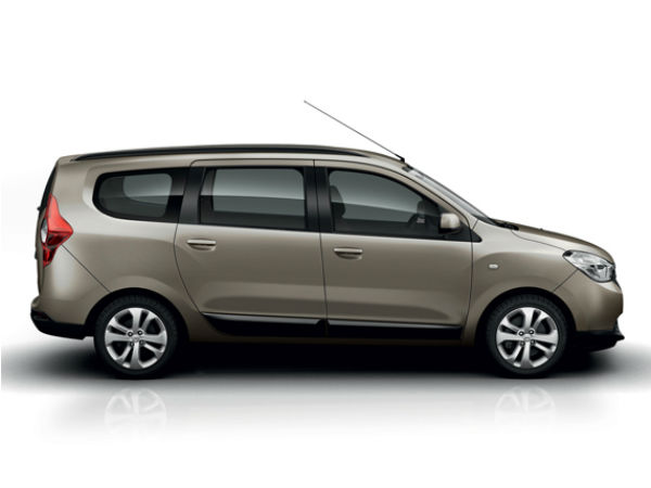 renault dacia lodgy mpv india launch drivespark news. Black Bedroom Furniture Sets. Home Design Ideas