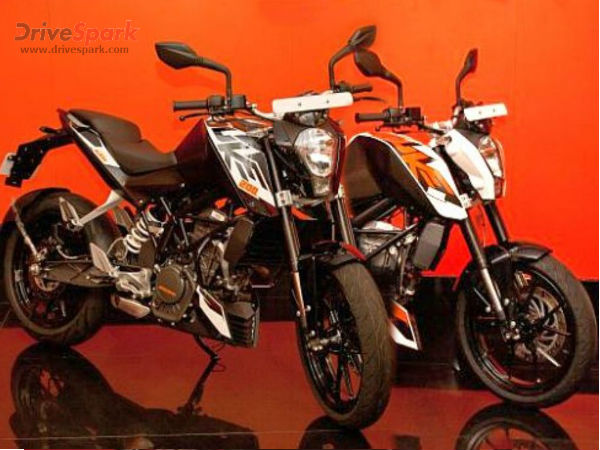 Ktm Duke Colors