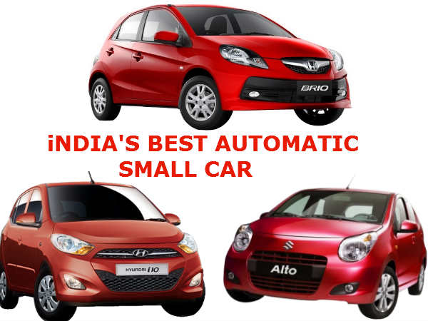 Best Automatic Small Cars In India