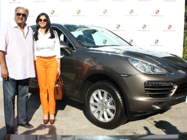 Sridevi Gifts Porsche Cayenne Premium Suv Boney