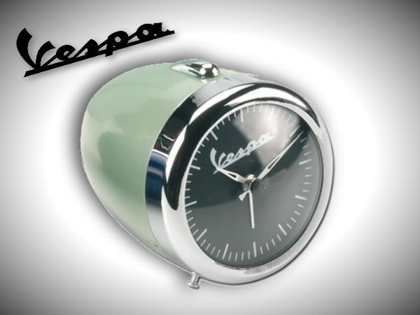 Vespa Table Alarm Clock