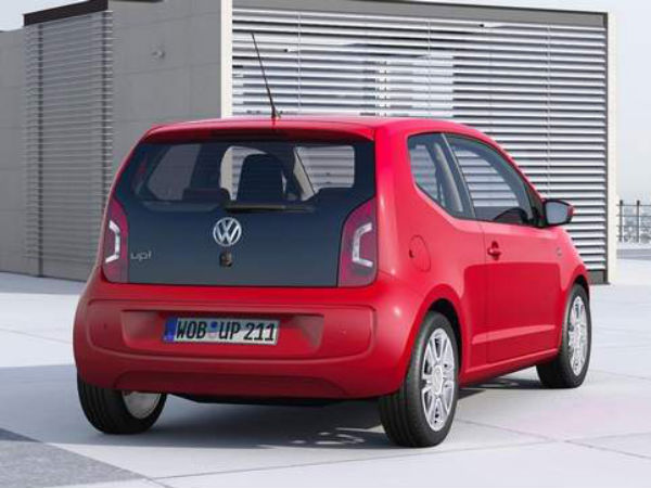 volkswagen up cn mileage launched in europe. Black Bedroom Furniture Sets. Home Design Ideas
