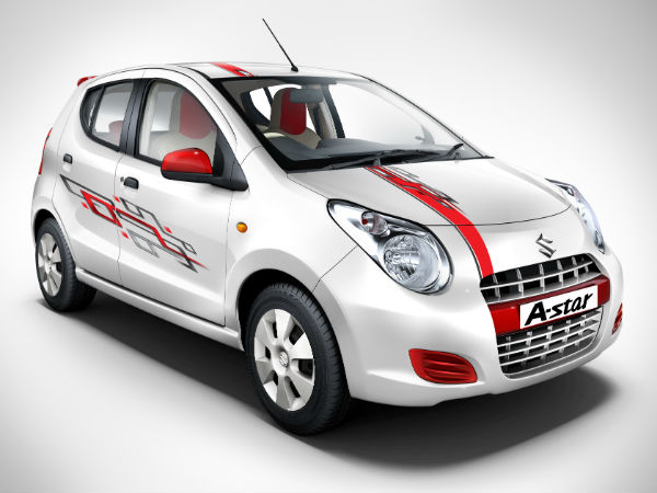 Maruti A-Star | Limited Edition Launched | Four Wheelers ...