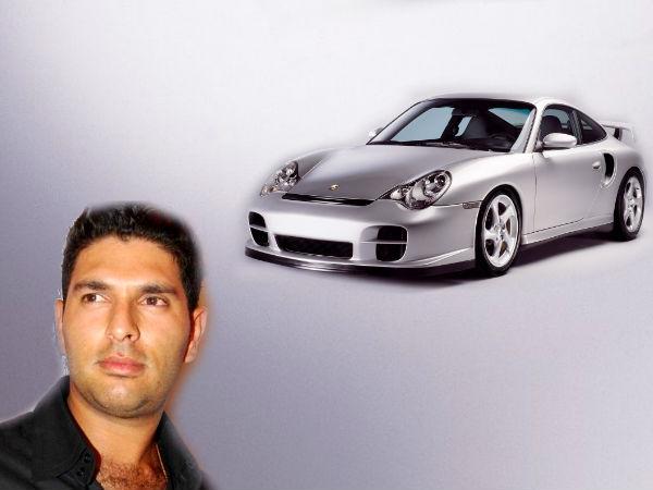 Yuvraj Singh Car Collection Porsche 911 Audi Q5 Lamborghini