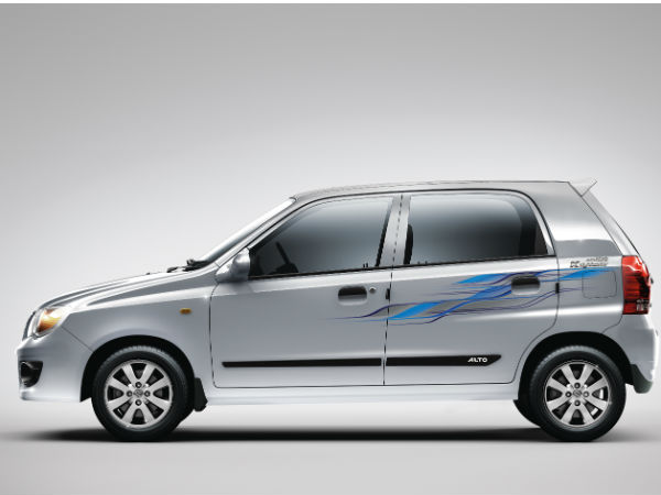 Maruti Suzuki Alto Knightracer Special Features DriveSpark - Car body graphics for altomaruti altobrowzer features and price in india