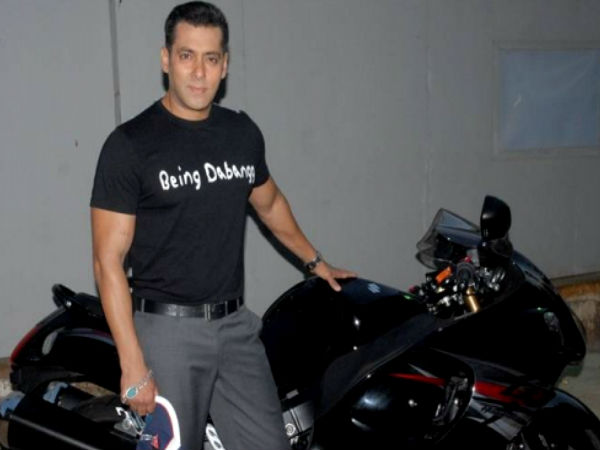 Salman Khan Bike Suzuki Hayabusa Superbike Intruder