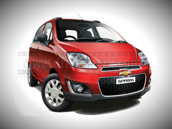 Refrshed New Chevrolet Spark