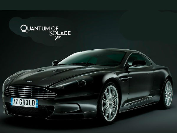 Quantum of Solace - Aston Martin DBS V12