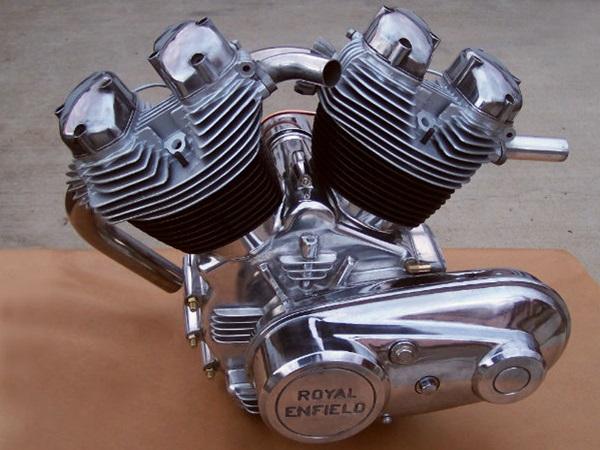 1000cc Royal Enfield Bullet V Twin Engine Built By Aniket Vardhan