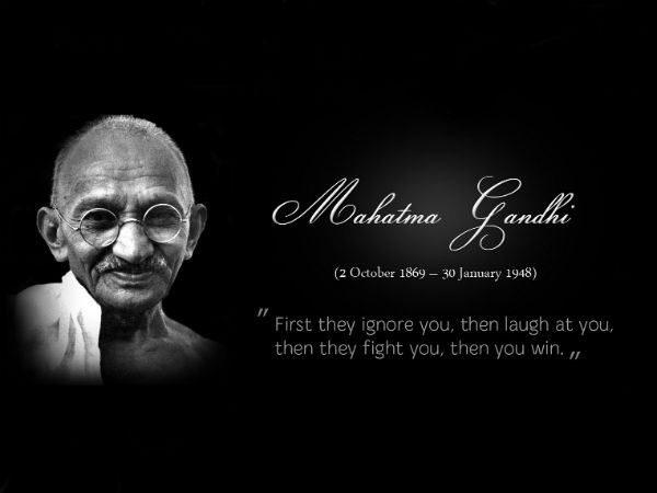 A Tribute To The Mahatma